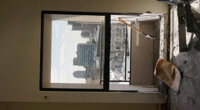 台中七期豪宅-落地窗&地板切割