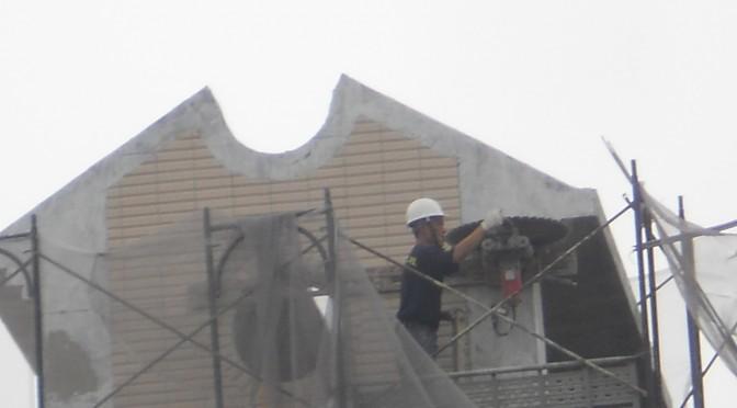 屋突造型 – 無傷切割吊移工程