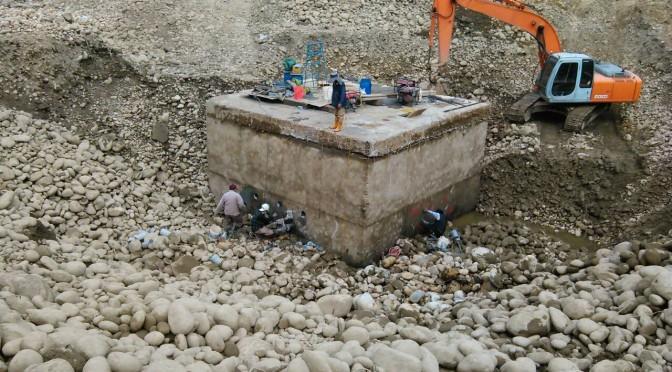 橋墩基礎鑽孔工程