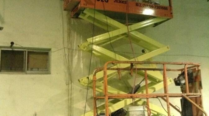 大立光的管線維修口