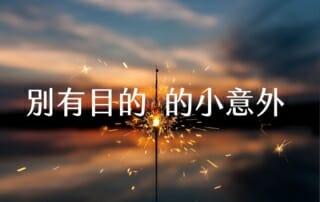 【嘉鴻筆記】別有目的的小意外 5