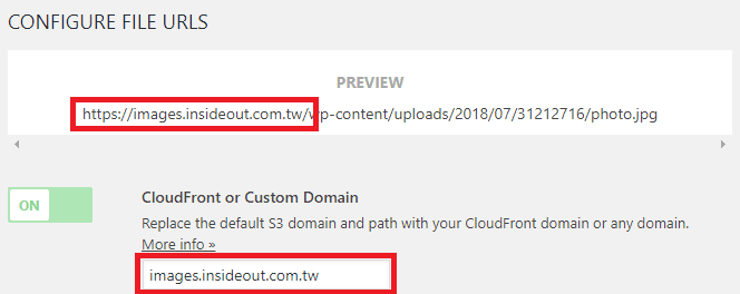 CloudFront- Custom-Domain