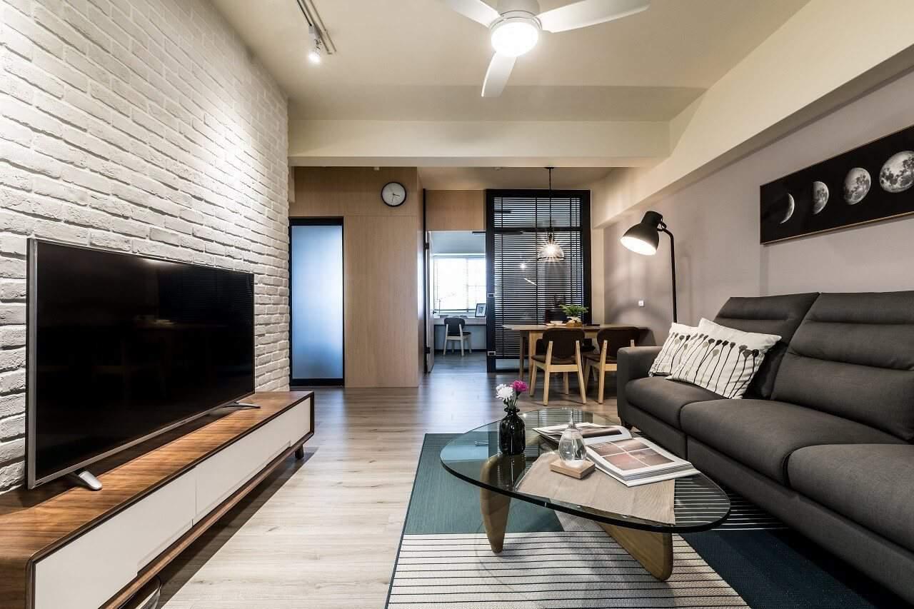 20年老屋翻修 – 年輕人的第一套房、輕裝修、好品質