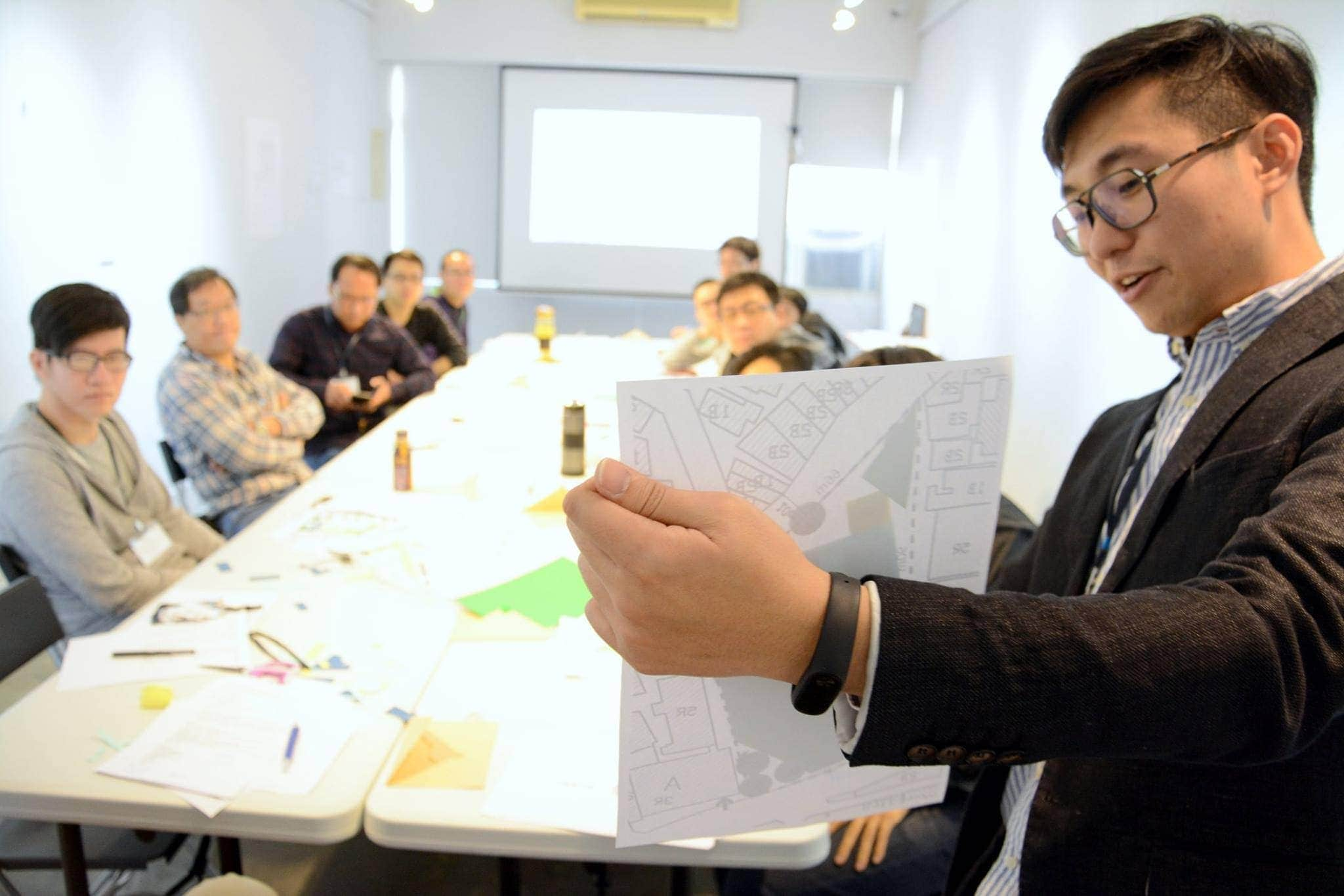 棋奕力-建築設計的快速決策-臺中場 1