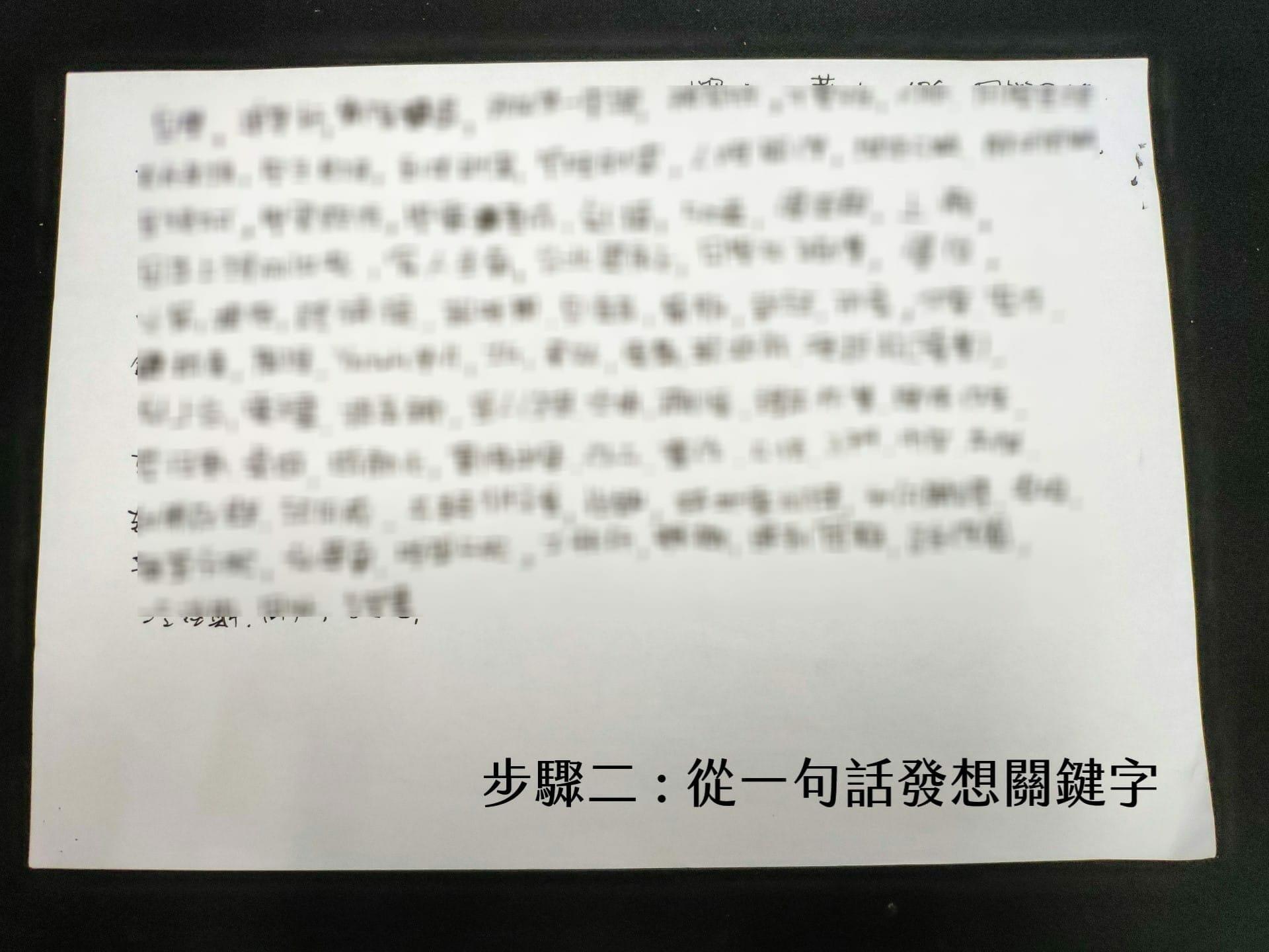 【嘉鴻筆記】關鍵字寫作紀錄 2